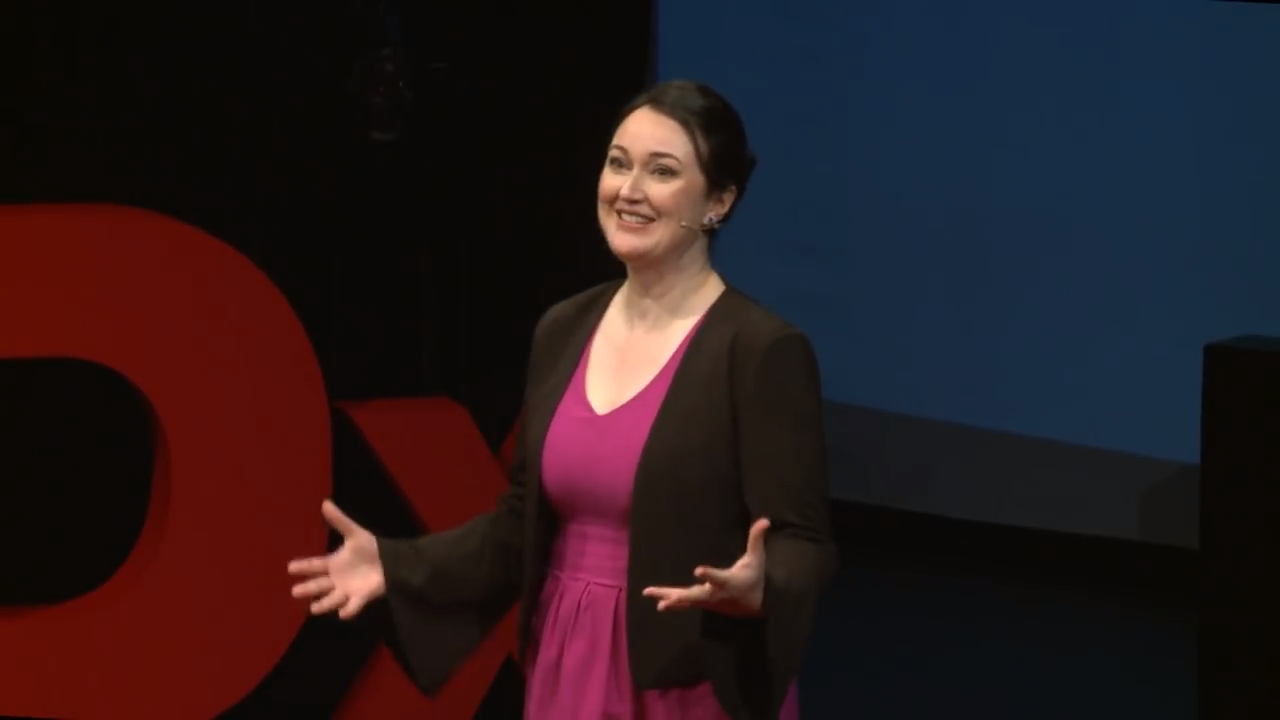 2018 TEDx Talk: How to be Normal (and why not to be) 2018
