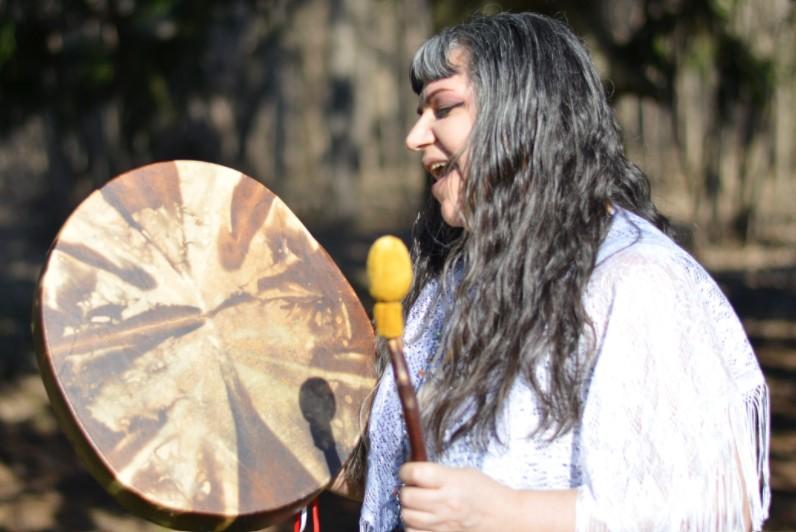 Medicine Song Woman, Brenda MacIntyre for ExtrodinaryWomenTV.com